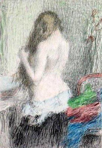 Femme à la toilette 2