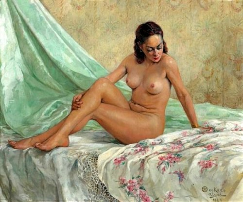 French Nude Woman