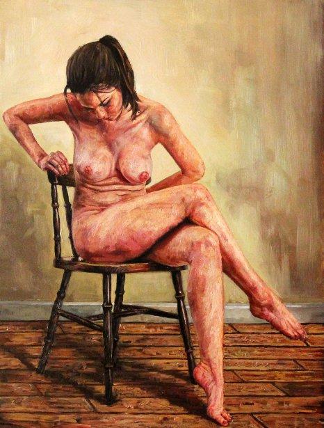 Seated Nude Study II
