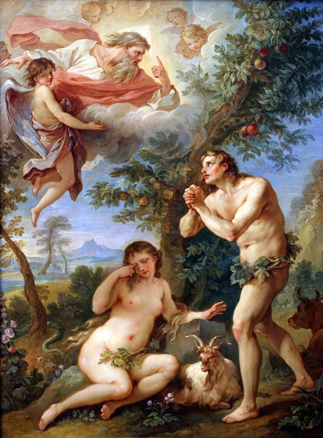 Adam And Eve - The Expulsion From Paradise