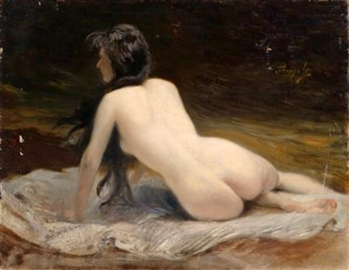 Female Nude Reclining