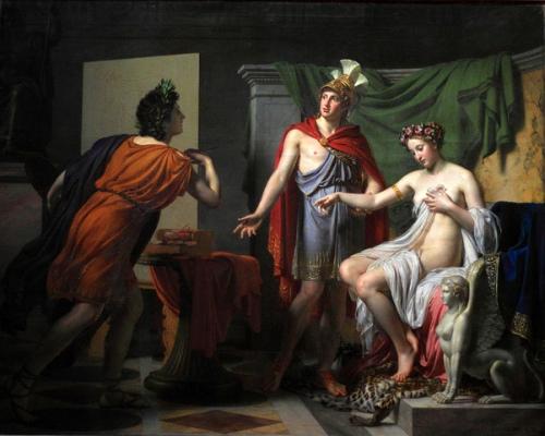 Générosité d'Alexandre - Alexandre cède Campaspe, sa maitresse, à Apelle