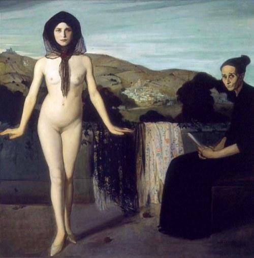 La bailarina desnuda