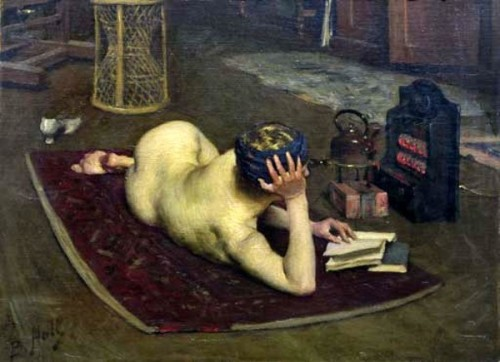 Nude Reading At Studio Fire