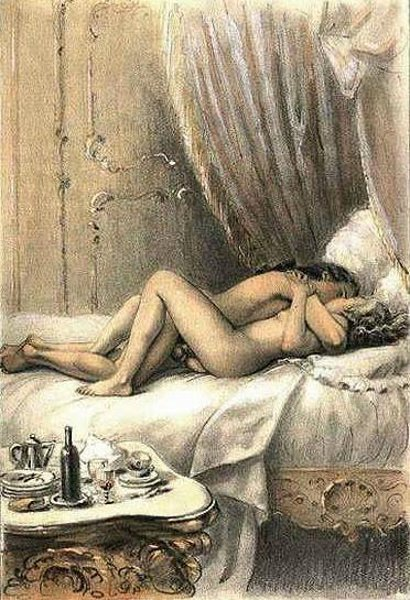Erotic art of george barbier 2 poemes en prose - 1 part 4