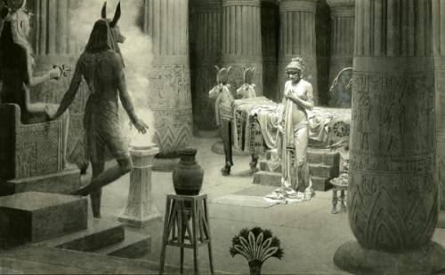 Paulina In The Temple Of Isis