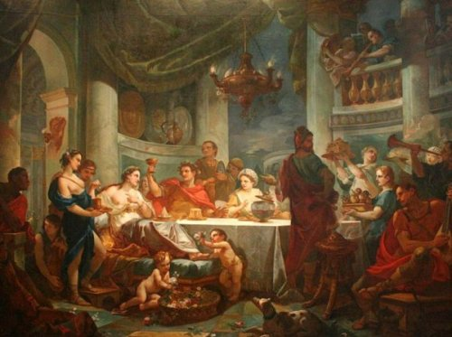 The Meal Of Cleopatra And Marc-Anthony
