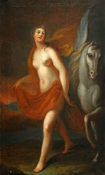 Athena And Pegasus