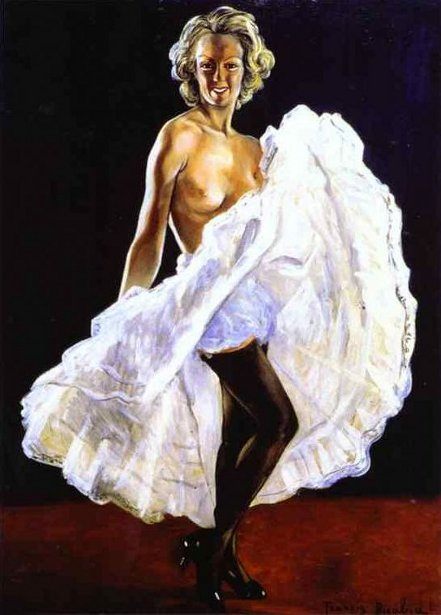 Dancer Of French Cancan