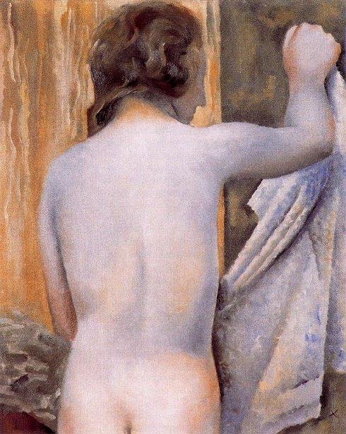 Desnudo femenino de espaldas