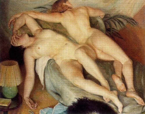 Dues dones dormint