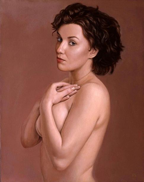 Ida, Mauve Background