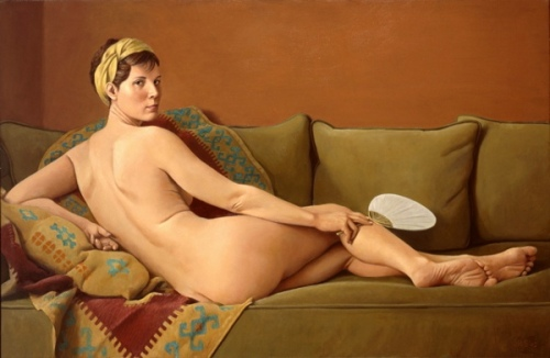 Laurie As Odalisque