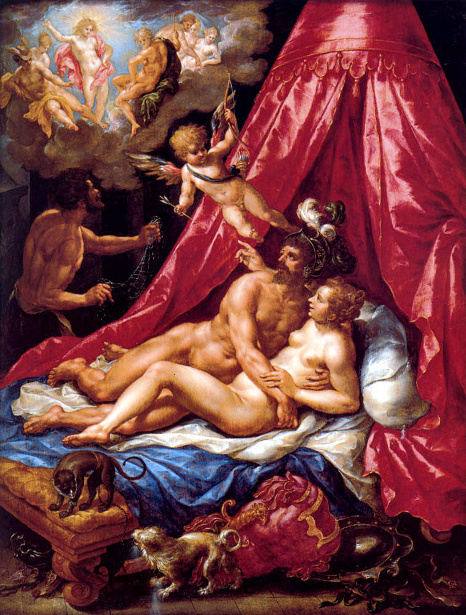 Mars And Venus Surprised By Apollo