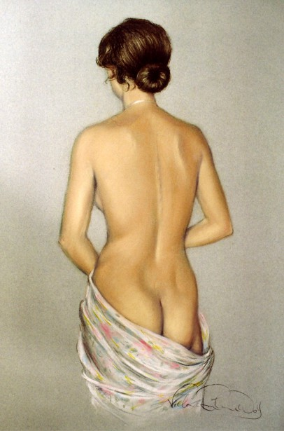 Mary Backview