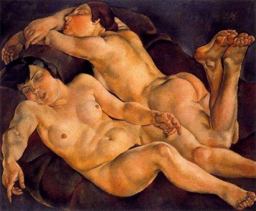 Mujeres dormidas