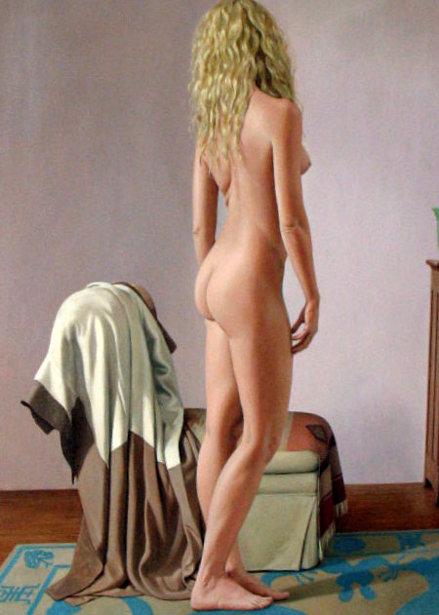 Nude With Kimono