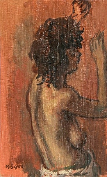 Profile Of A Nude Woman