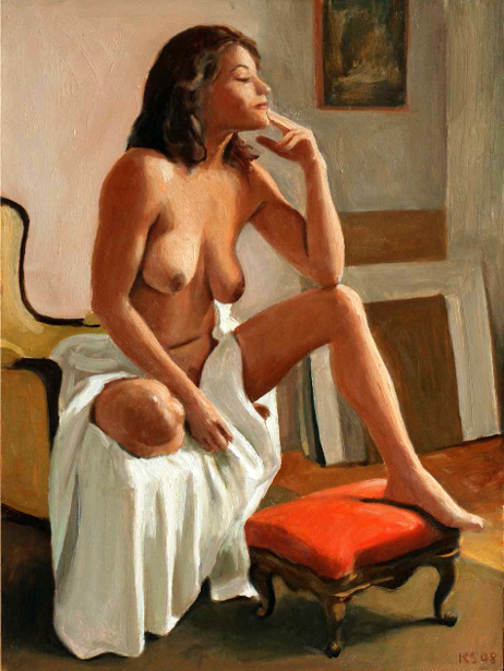 Study for Isela Seated