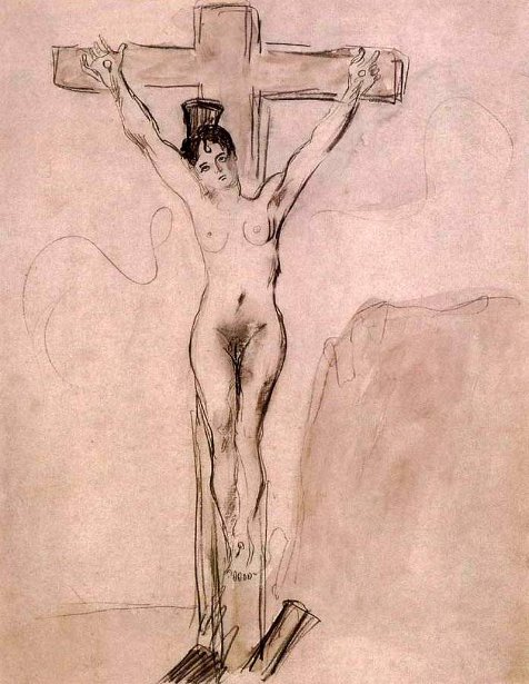 The Girl On The Cross