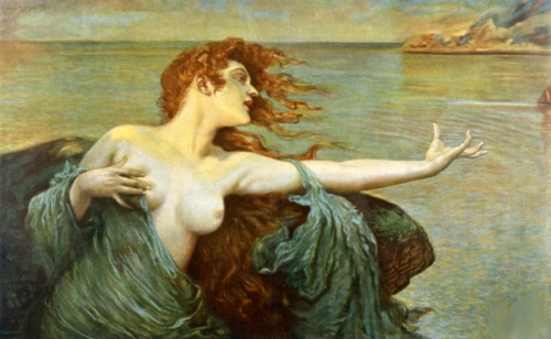 The Siren Sings Her Song Luring Sailors To Desctruction