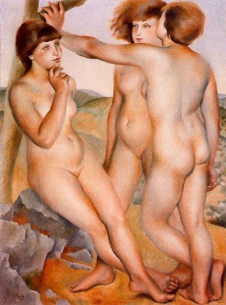 Tres desnudos