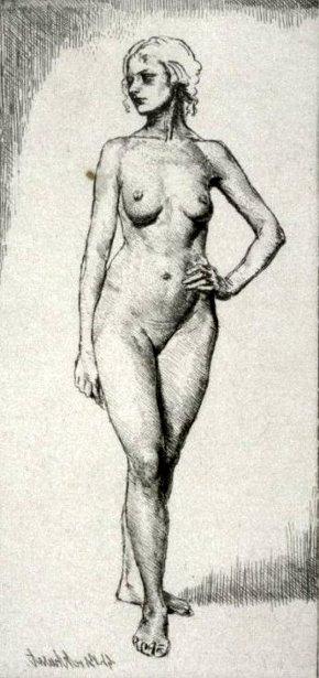 Ursula (Nude Standing)