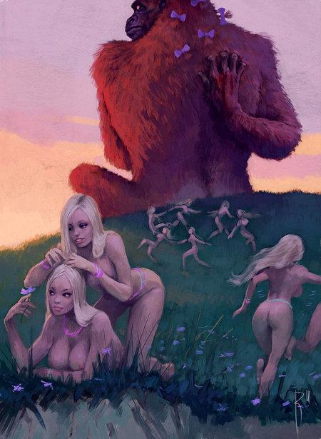 Wives Of King Kong