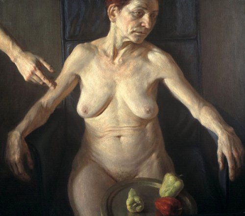 Woman With Paprika