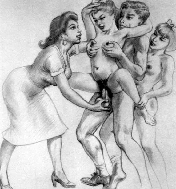 There's erotic vintage activity