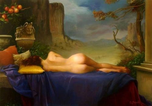 Eva dormiente
