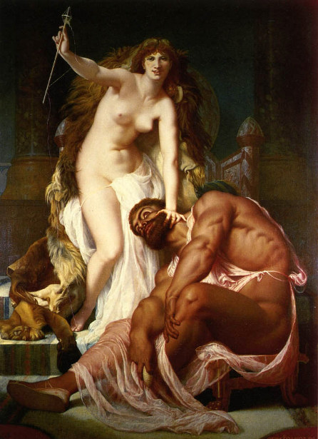 Hercules At The Feet Of Omphale