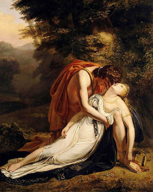 Orpheus Mourning The Death Of Eurydice