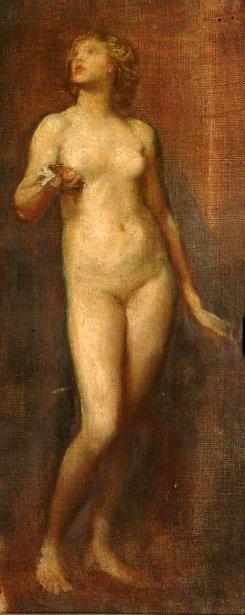 Study Of Nude - Standing Figure
