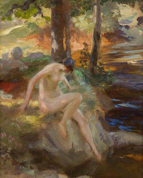 The Bather (Study)