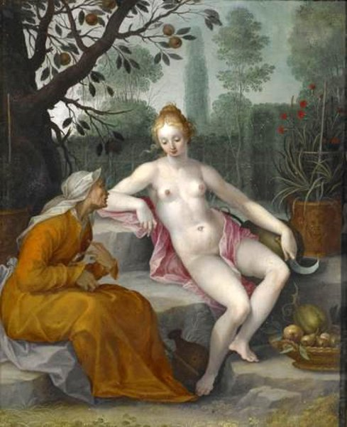 Vertumnus And Pomona 2