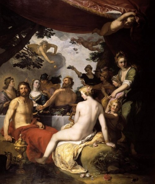 Wedding Of Peleus And Thetis - The Feast Of The Gods At The Wedding Of Peleus And Thetis