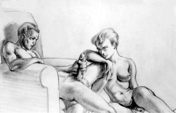рисунки мастурбации