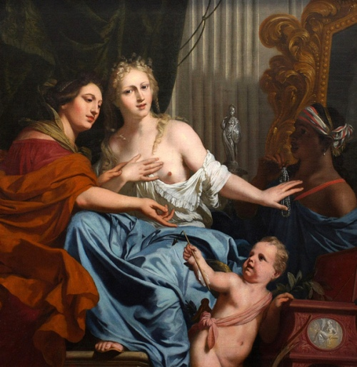 Allegory Of Constancy And Vanity