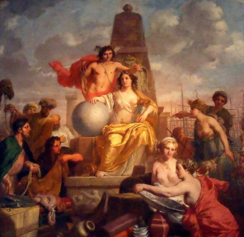 Allegory On The Prosperity Of Amsterdam