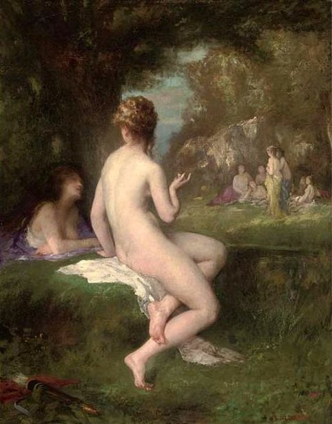 Diana Bathing With The Nymphs