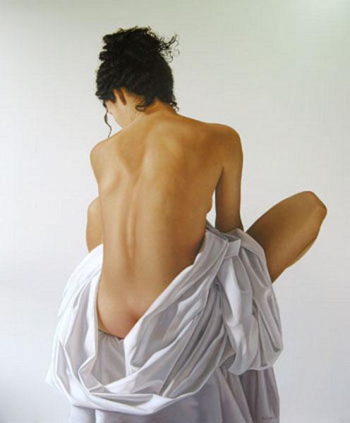 El desnudo y la tela