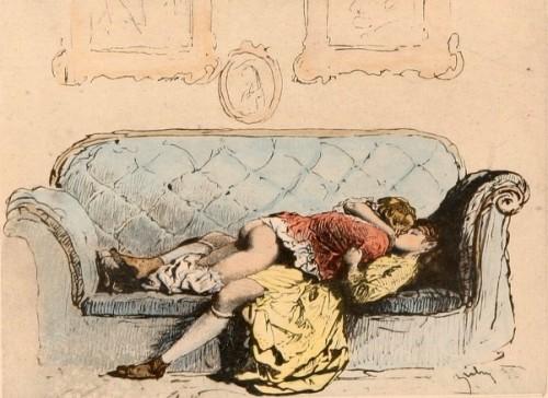 Intercourse On The Sofa