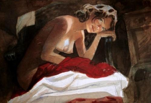 Jeanne nue