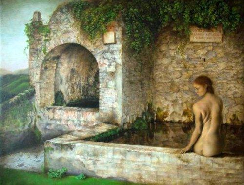 La ragazza della fontana