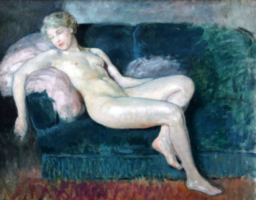 Nude On A Sofa