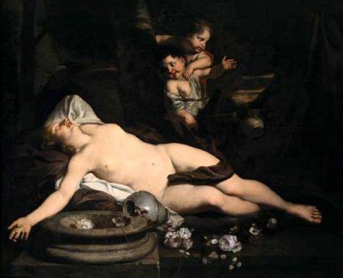 Sleeping Bacchante