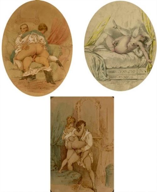 Three Erotic Drawings