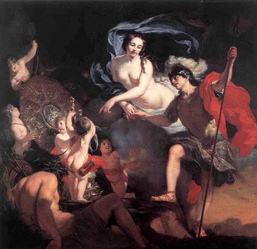 Venus Presenting Weapons to Aeneas