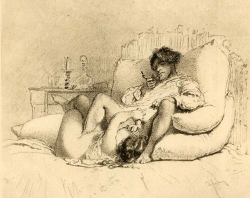 Woman Masturbating A Man - Prefellatio